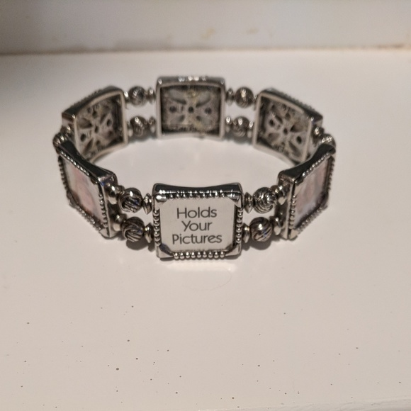 Jewelry Silver Picture Frame Bracelet Poshmark